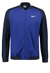 Nike Performance Premier Tracksuit Top Deep Royal Blue Obsidian White Dark Blue