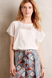 Meadow Rue Anele Blouse Ivory