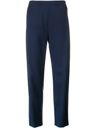 Stephan Schneider High Waisted Tailored Trousers Blue