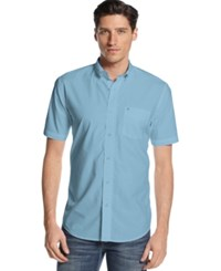Tommy Hilfiger Short Sleeve Maxwell Shirt Blue Bell