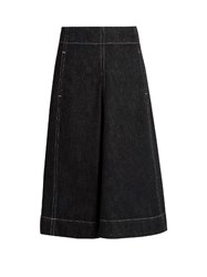 Christophe Lemaire A Line Denim Skirt Indigo