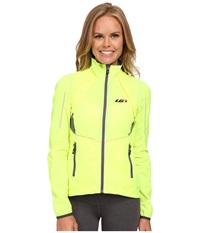 Louis Garneau Cabriolet Jacket Bright Yellow Women's Workout