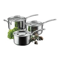 Scanpan Fusion 5 3 Piece Saucepan Set