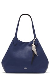 Vince Camuto Polli Leather Tote Blue Estate Blue