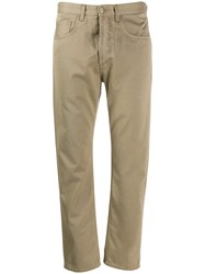 Haikure Slim Fit Trousers Neutrals