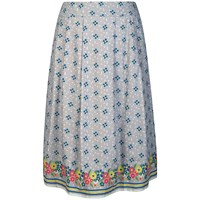 Seasalt Prussia Cove Skirt Confetti Flowers Cobble