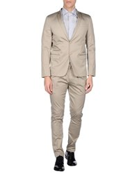 Havana And Co. Suits And Jackets Suits Men Beige