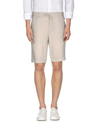 I.D.I.B. Trousers Bermuda Shorts Men Light Grey