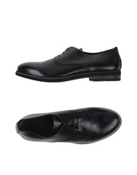 Pantanetti Footwear Lace Up Shoes Men Black