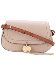 See By Chloe Cross Body Bag Women Calf Leather One Size Nude Neutrals