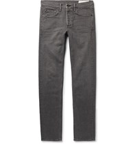 Rag And Bone Two Slim Fit Washed Denim Jeans Anthracite