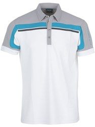 Galvin Green Macoy Ventil8 Polo White