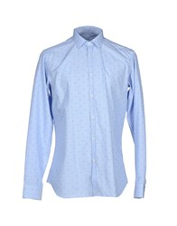 Caliban Shirts Sky Blue