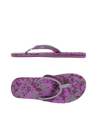 The North Face Footwear Thong Sandals Women Purple