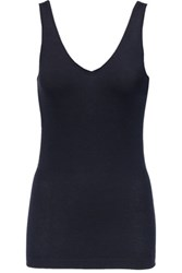 Donna Karan New York Cashmere Blend Tank Midnight Blue