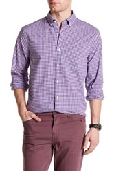 Bonobos Long Sleeve Front Pocket Plaid Standard Fit Woven Shirt Purple