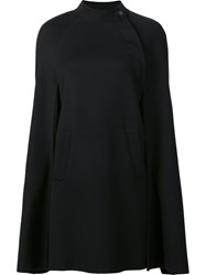 Carolina Herrera Short Cape Black