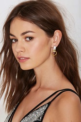 Nasty Gal I Still Love You Nyc Slave To Fashion Earrings