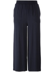 I'm Isola Marras Straight Cropped Trousers Blue
