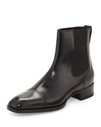 Tom Ford Gianni Leather Chelsea Boot Black