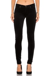 Ag Adriano Goldschmied Velvet Legging Black