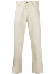 Levi's Vintage Clothing Straight Leg Trousers Neutrals