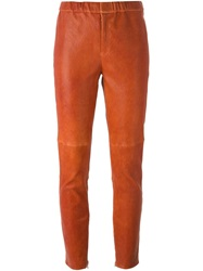 Isabel Marant Classic Leggings Yellow And Orange