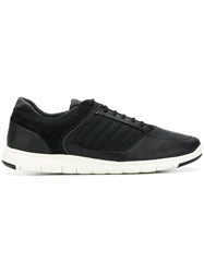 Geox Lace Up Sneakers Black