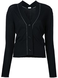 Rito V Neck Cardigan Black