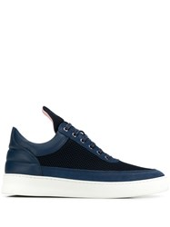 Filling Pieces Panelled Sneakers Blue