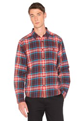 Patagonia Lightweight Fjord Flannel Shirt Red