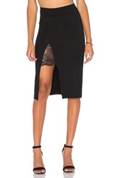 Nightcap Garder Pencil Skirt Black