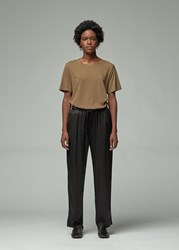 Raquel Allegra 'S Boxy T Shirt In Army Size 0 100 Cotton