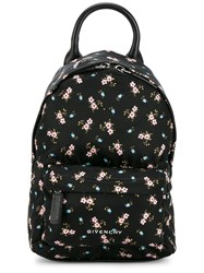 Givenchy Floral Printed Nano Backpack Black