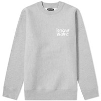 Know Wave Broadcast Crew Sweat Grey