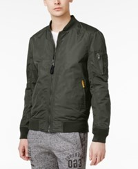 Superdry Men's Lite Flight Bomber Jacket Drill Khaki