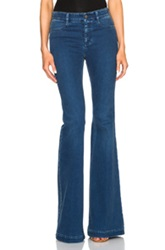 Stella Mccartney The 70S Flare In Blue