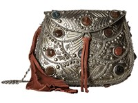 Sam Edelman Thana Metal Mini Crossbody Silver Cross Body Handbags