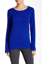 Solow Layering Long Sleeve Tee Blue