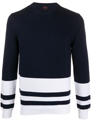 Massimo Piombo Mp Knitted Two Tone Jumper 60