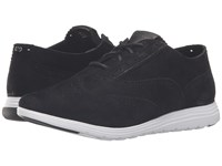 Cole Haan Grand Tour Oxford Black Suede Optic White Women's Lace Up Casual Shoes