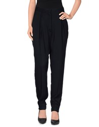 Gaetano Navarra Trousers Casual Trousers Women Dark Blue