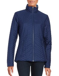 Marmot Turncoat Quilted Jacket Blue