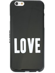 Givenchy Love Print Iphone 6 Case Black