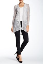 Tart Lace Fallon Cardigan Gray