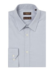 Corsivo Delgi Tiny Pindot Shirt Grey