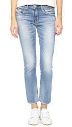 Red Card 25Th Anniversary Selvedge Boyfriend Jeans Kita Vintage Light Wash