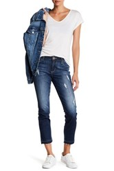 Kut From The Kloth Emma Ankle Straight Jean Blue