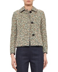 Akris Punto Static Tweed Three Button Jacket Multi Women's Multi Color