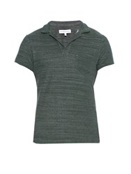 Orlebar Brown Terry Towelling Cotton Polo Shirt
